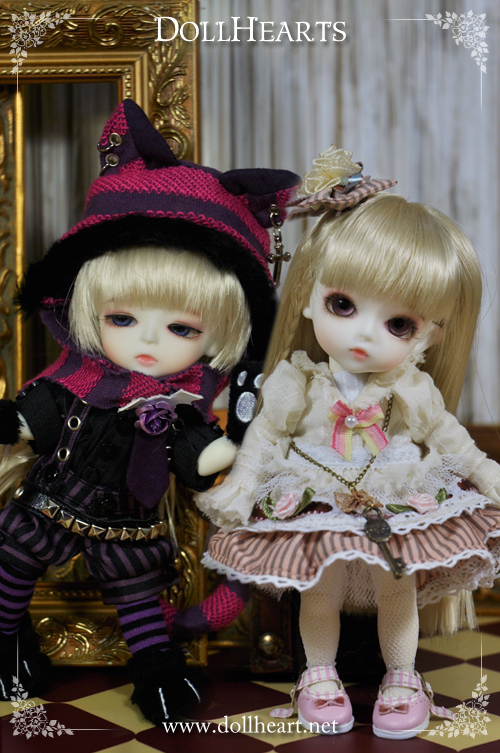 [Alice 2014]DH000393 LATI Cheshire Cat & Alice SET