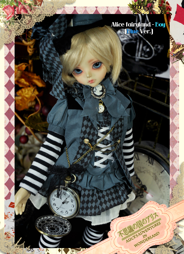 MD000180 [Alice in wonderland] Alice fairyland - BOY BLUE Ver.
