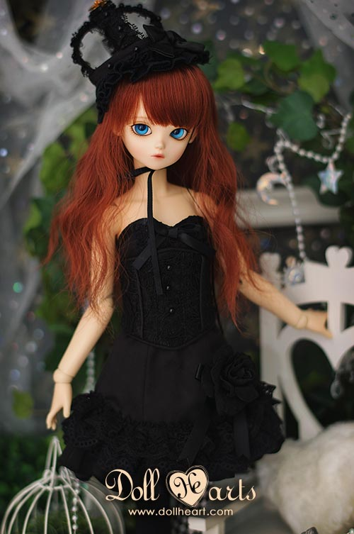 [Pre-order] MD000258 Black Lace Lady [Lace Style]