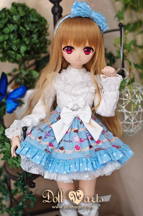 [Pre-order] MD000268 Blue Printed Holiday Dress [MSD Ver]
